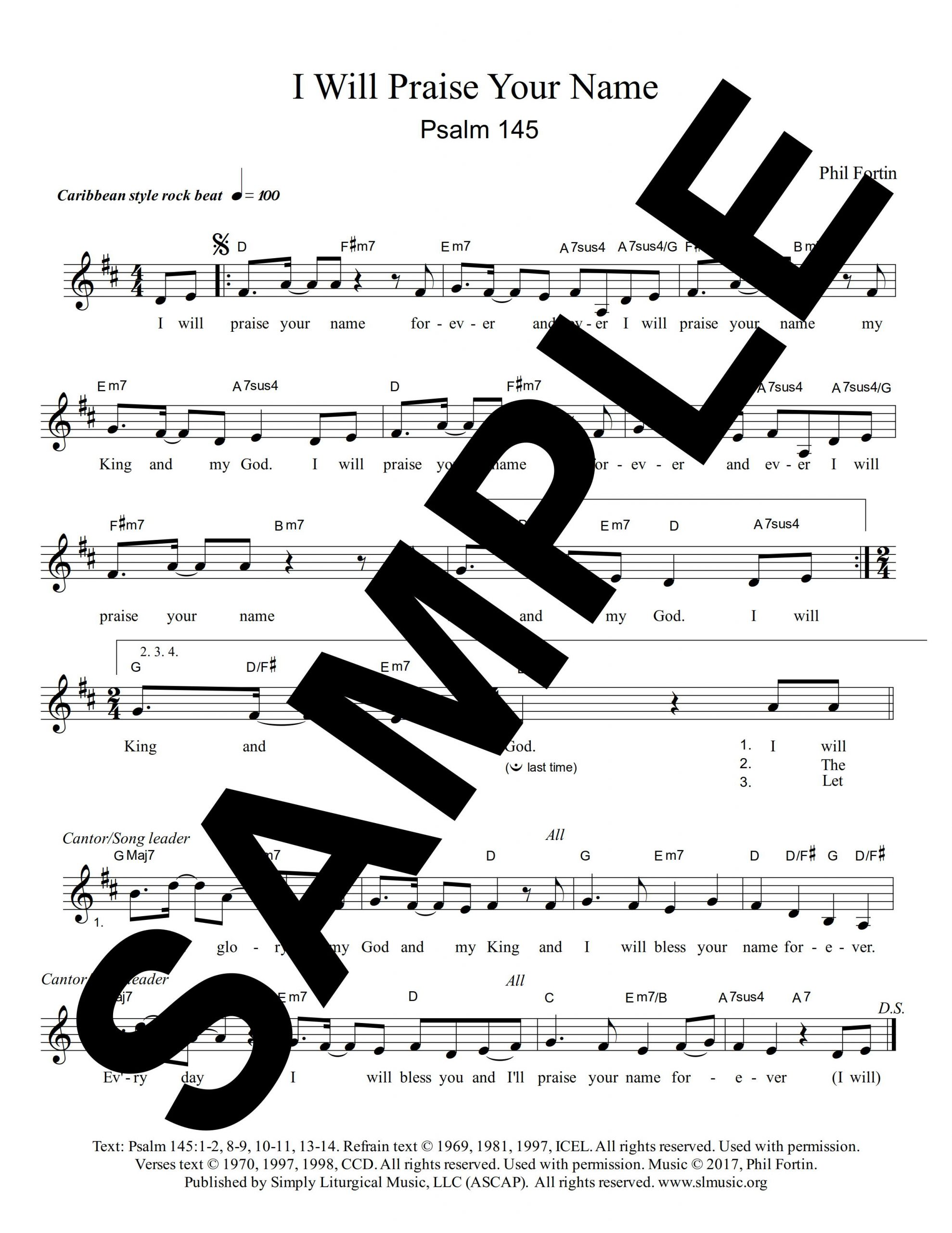 Psalm 145 Fortin Sample 1 scaled
