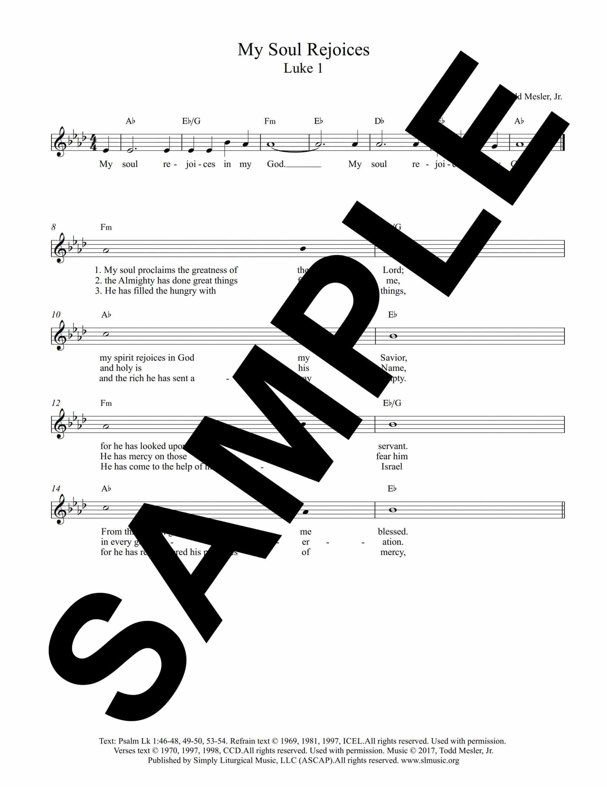 Luke 1 Mesler Sample Lead Sheet scaled