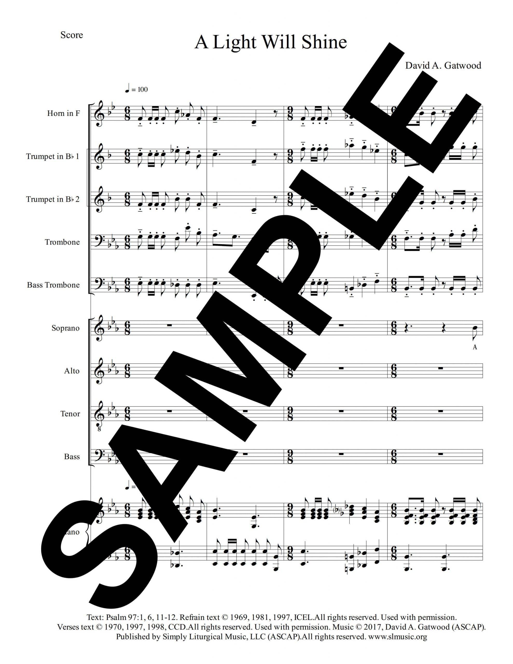 Psalm 97 Christmas Gatwood Sample Score scaled