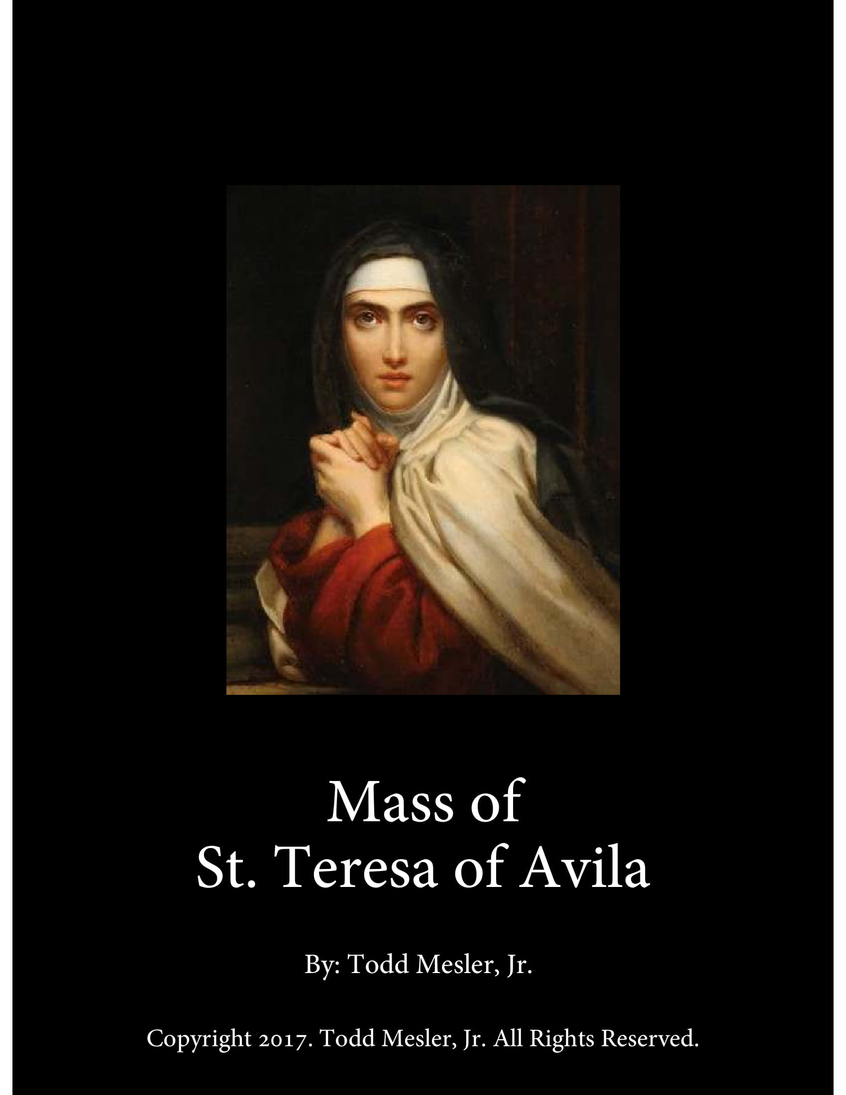 Mass of St. Teresa of Avila Cover Page 1