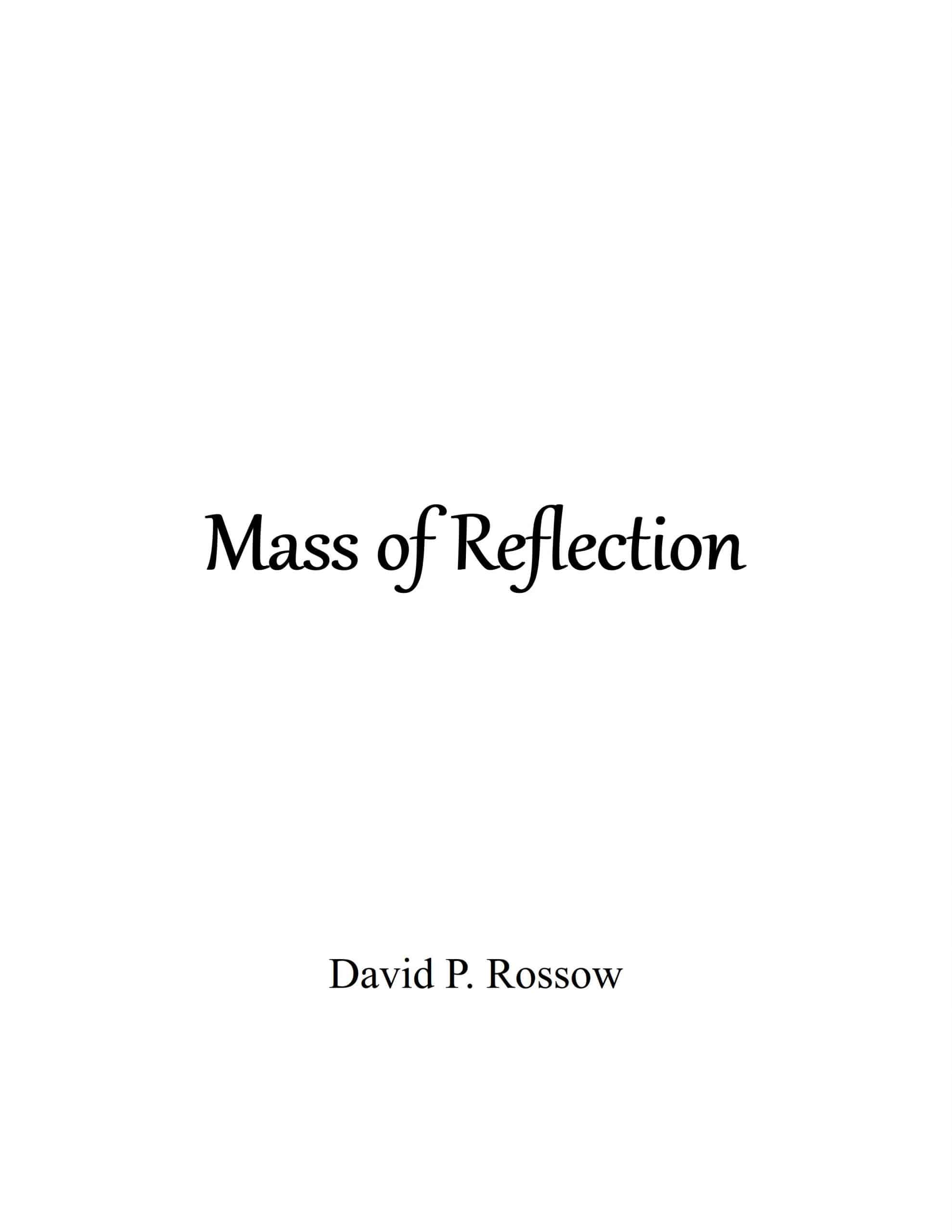 Mass of Reflection Cover scaled