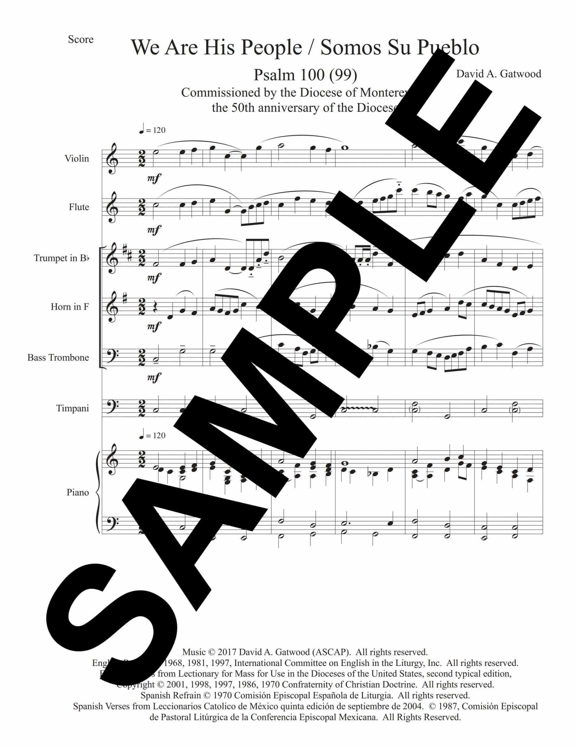 Psalm 100 Gatwood Sample Score scaled