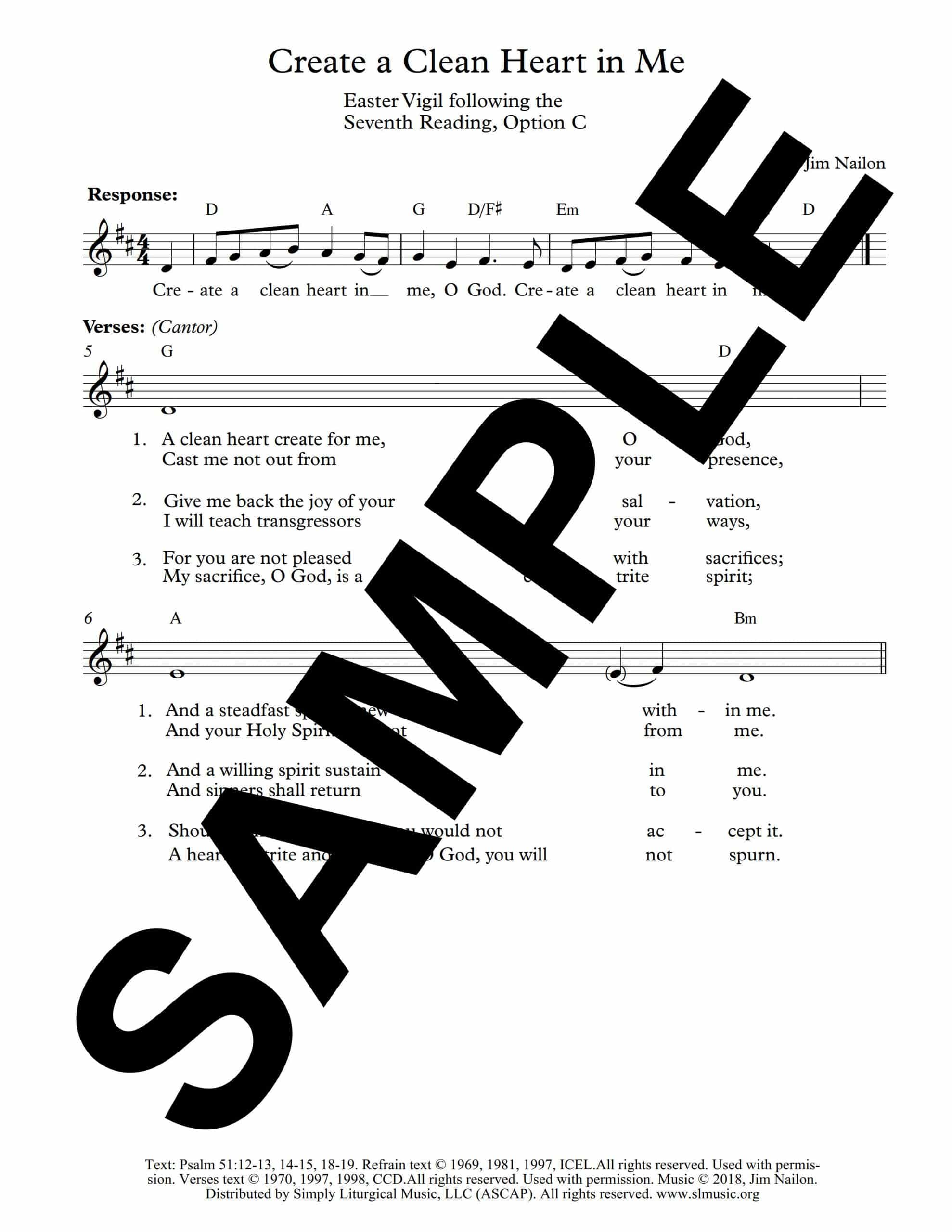 Psalm 51 Easter Vigil Nailon Sample Lead Sheet scaled