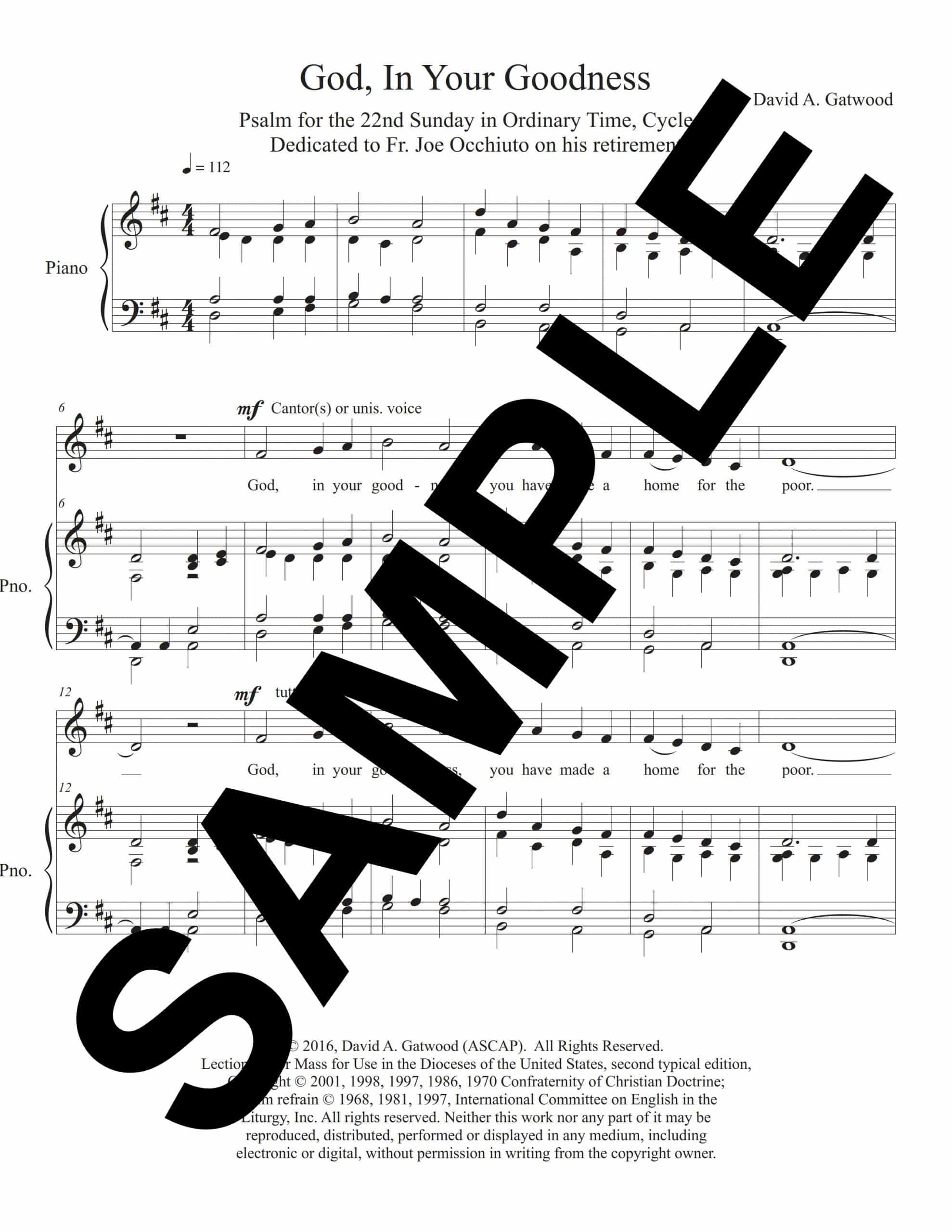 Psalm 68 Gatwood Sample Melody Piano scaled