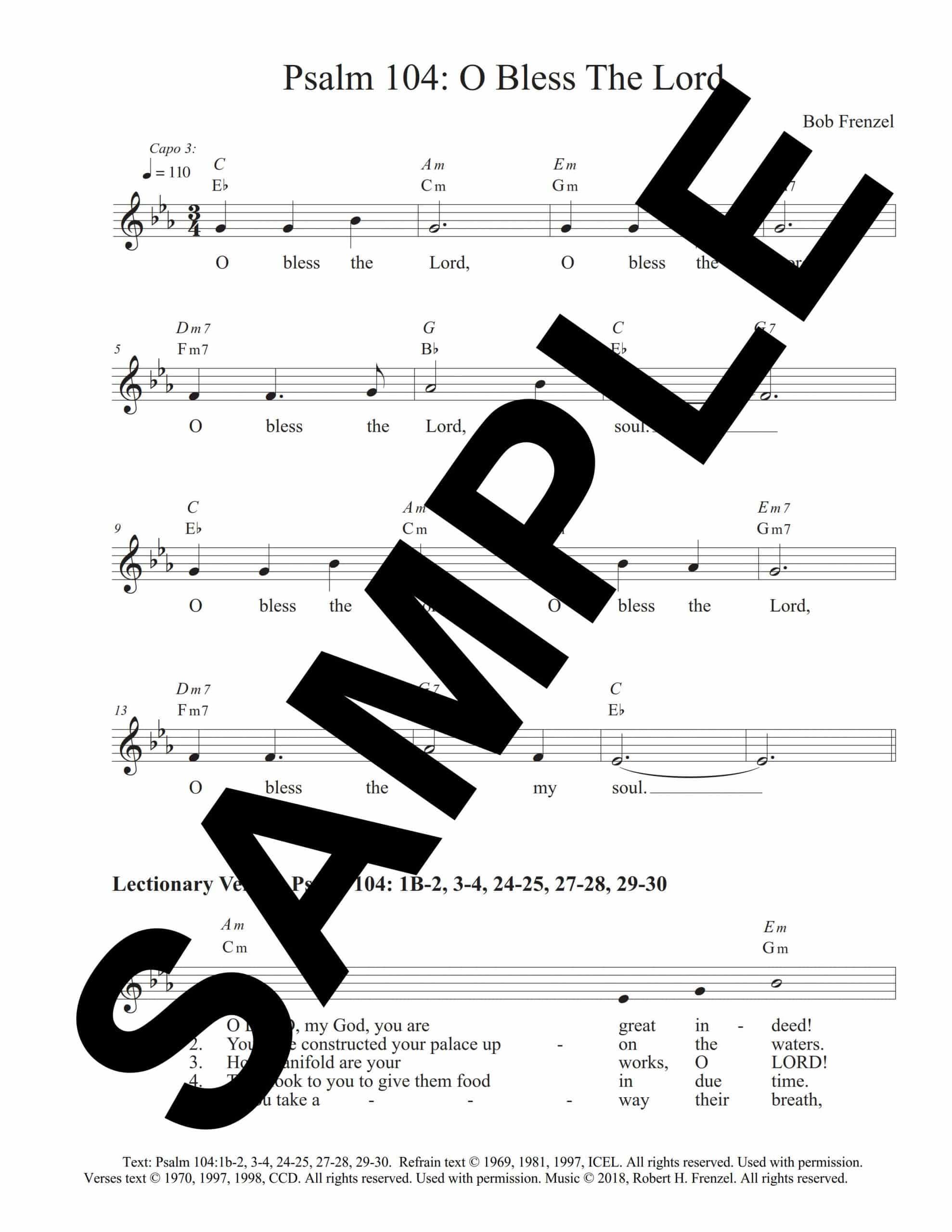 Psalm 104 Bapt Frenzel Sample LeadSheet scaled