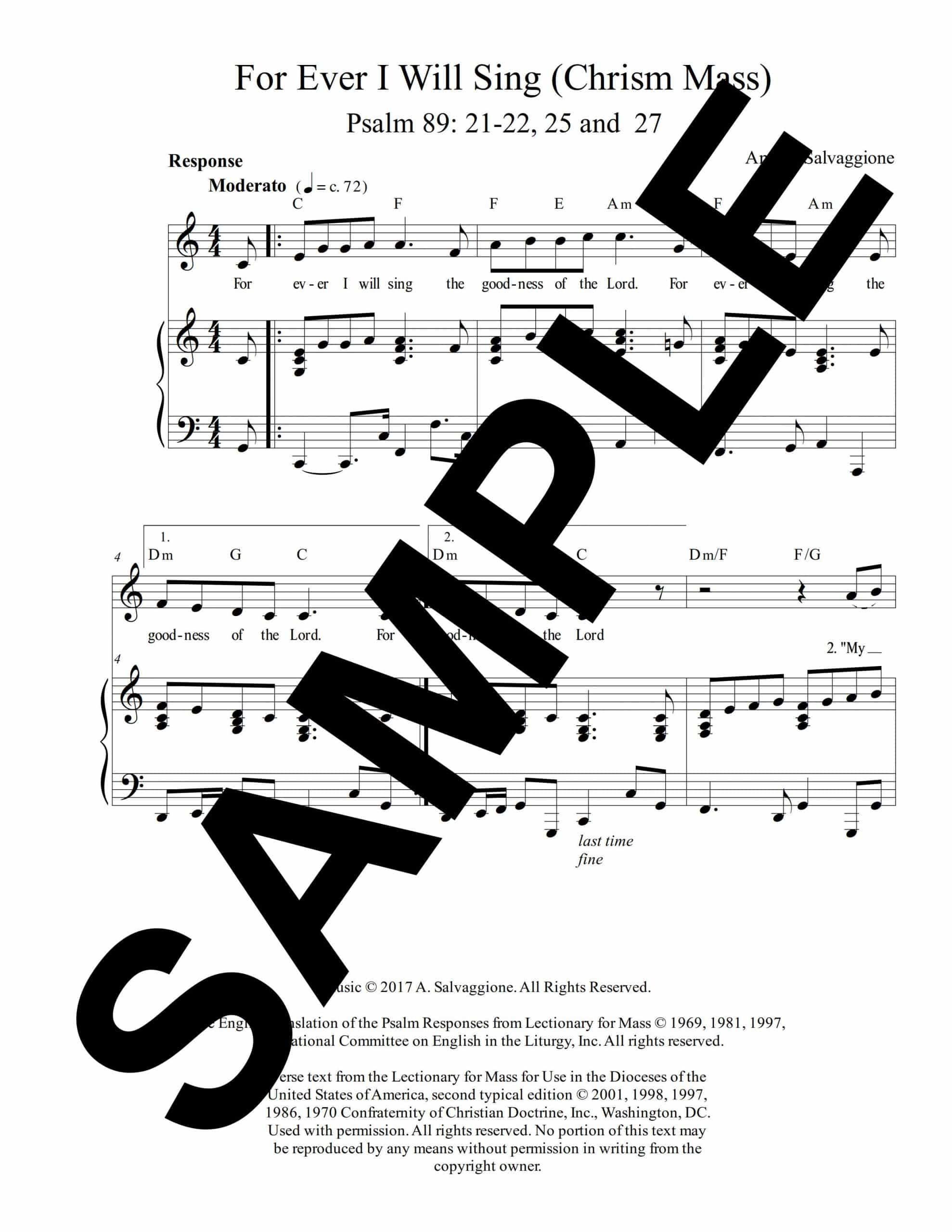 Psalm 89 Forever I Will Sing Salvaggione Sample Octavo scaled