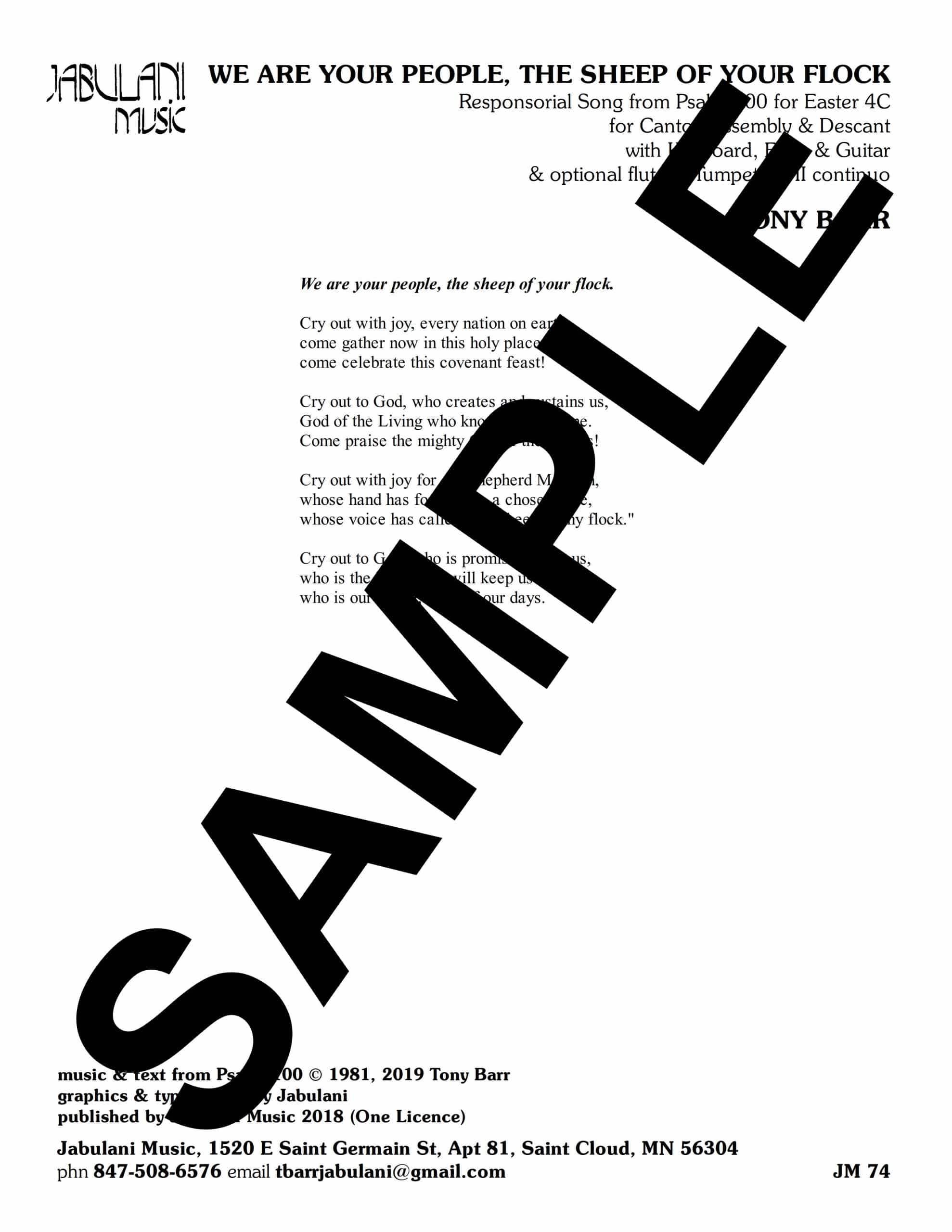 04 Ps 100 We Are Your People The Sheep Of Your Flock jm 74Sample scaled