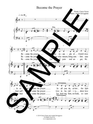Become the Prayer Sample Octavo scaled