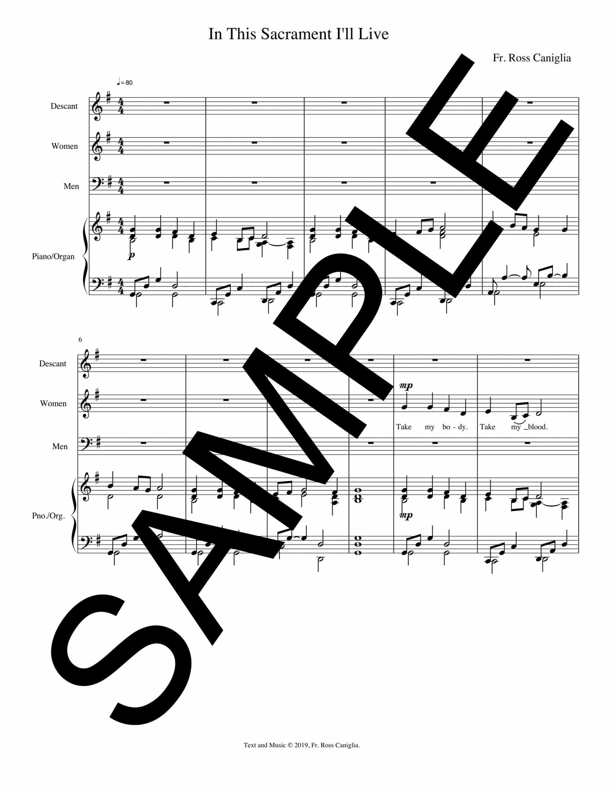 In This Sacrament Ill Live Sample Musicians Parts scaled