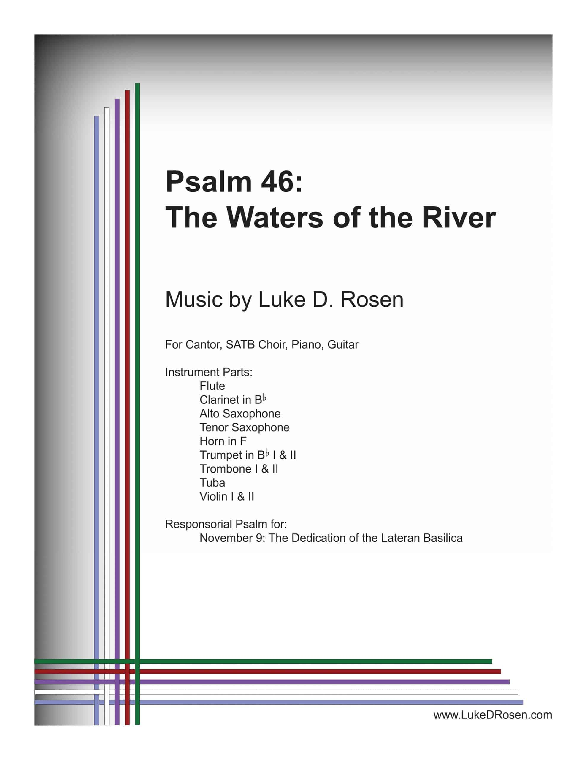 Psalm 46 The Waters of the River ROSEN Sample Complete PDF scaled