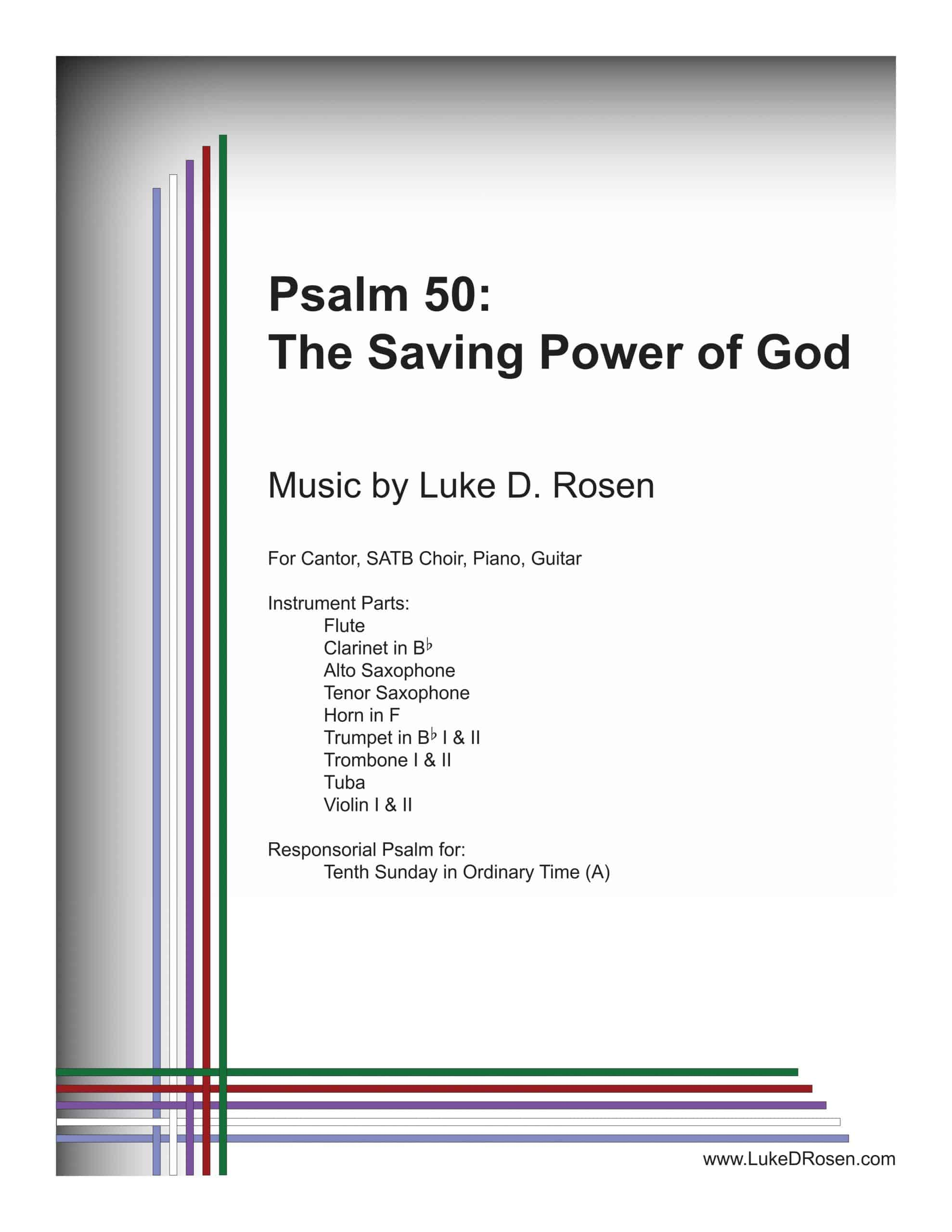 Psalm 50 The Saving Power of God ROSEN Sample Complete PDF scaled