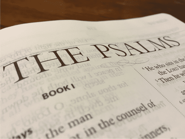 The Psalms Image compressed