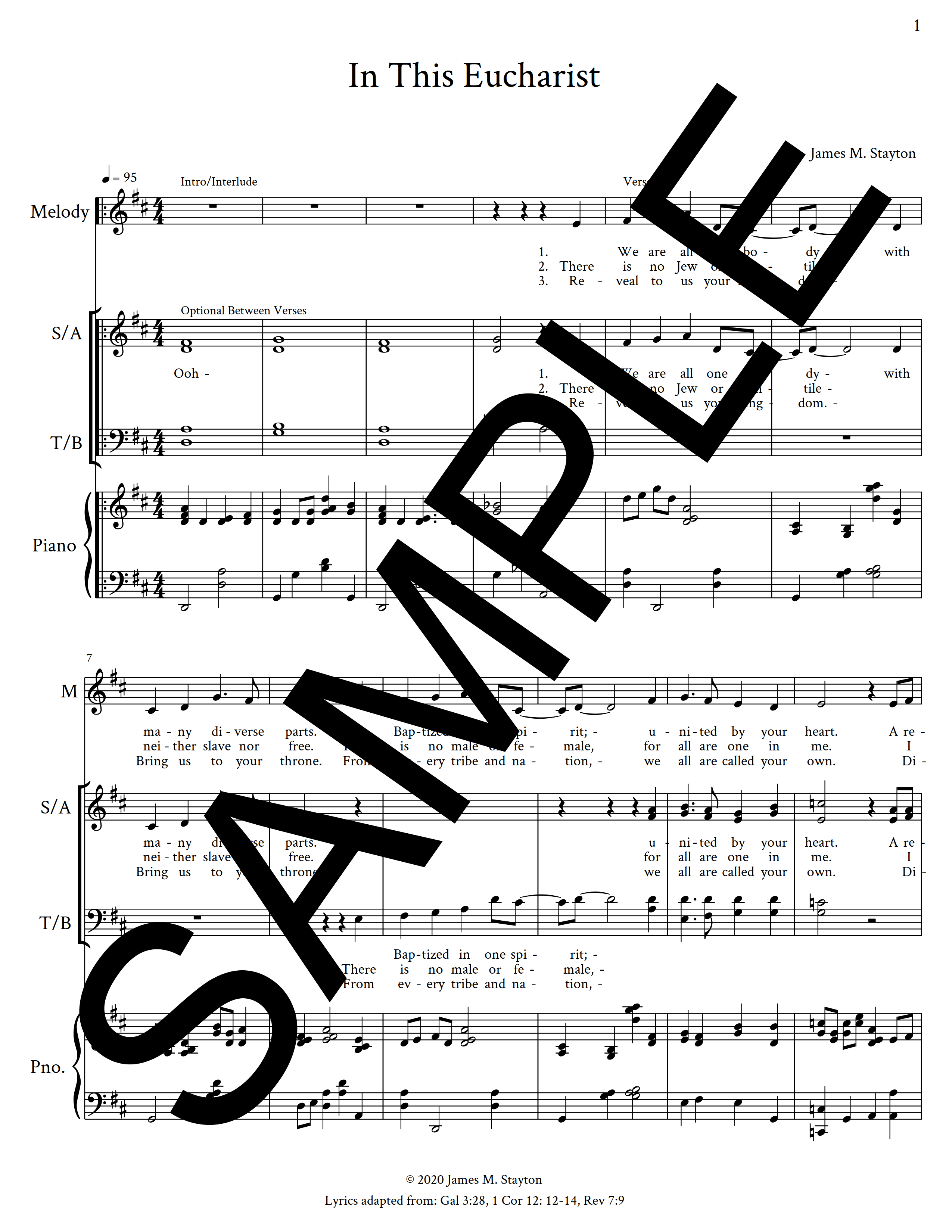 In This Eucharist Stayton Sample Octavo 1 png