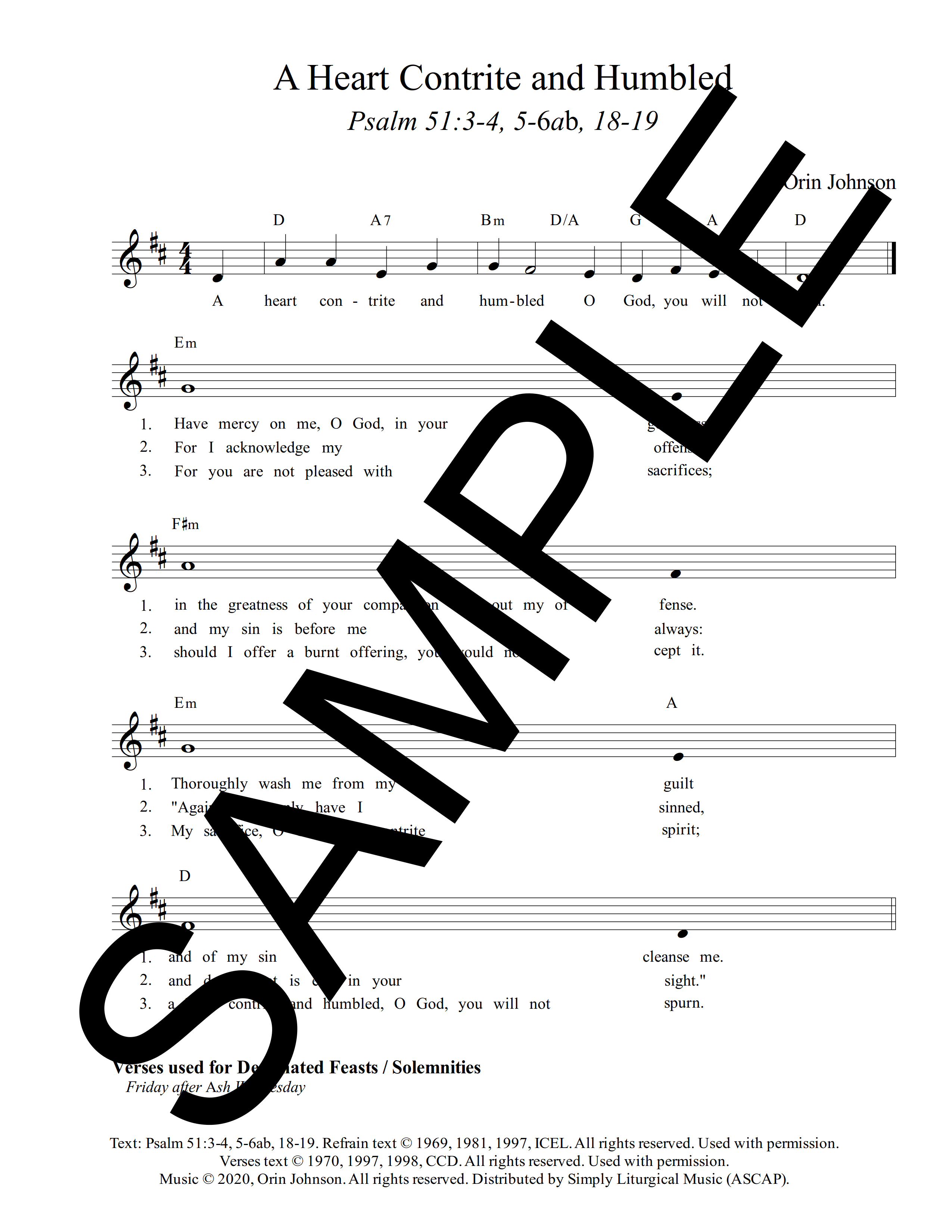 Psalm 51 A Heart Contrite and Humbled Johnson Sample Lead Sheet 1 png