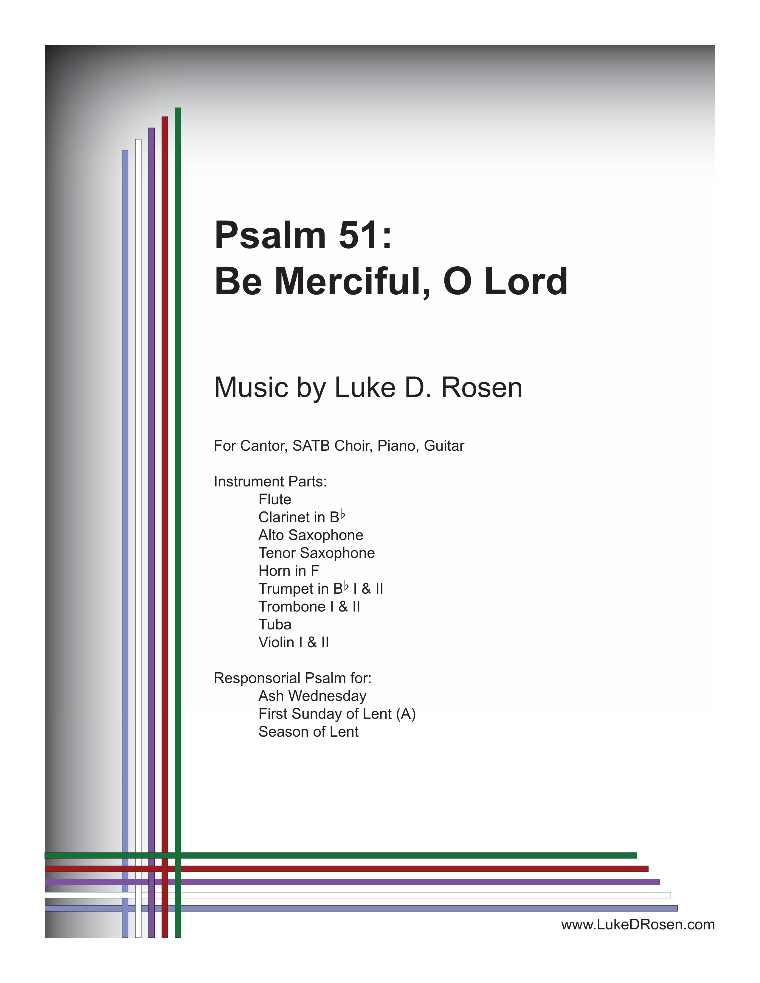 Psalm 51 Be Merciful O Lord Rosen Sample Complete PDF 1 png