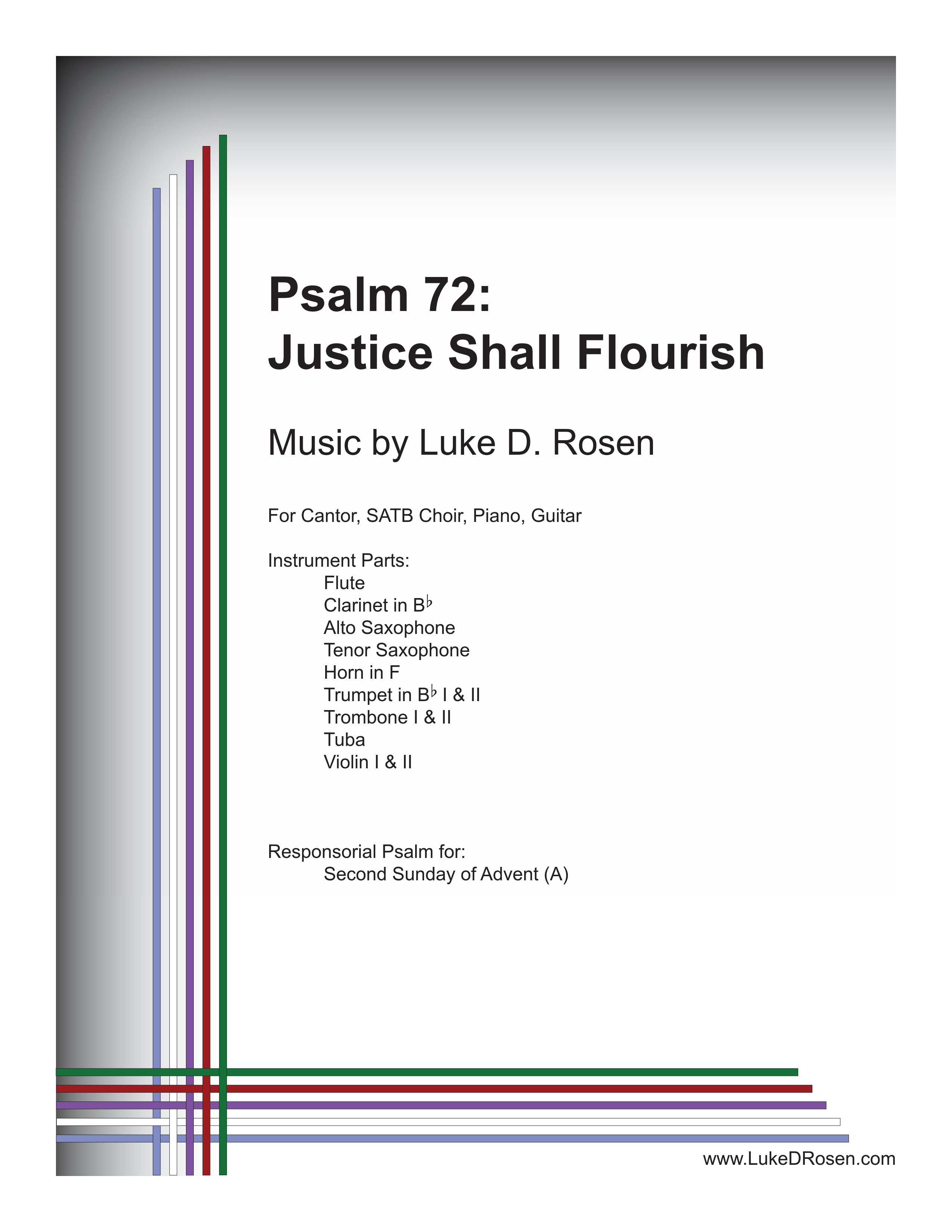 Psalm 72 Justice Shall Flourish Rosen Sample Complete PDF 1 png