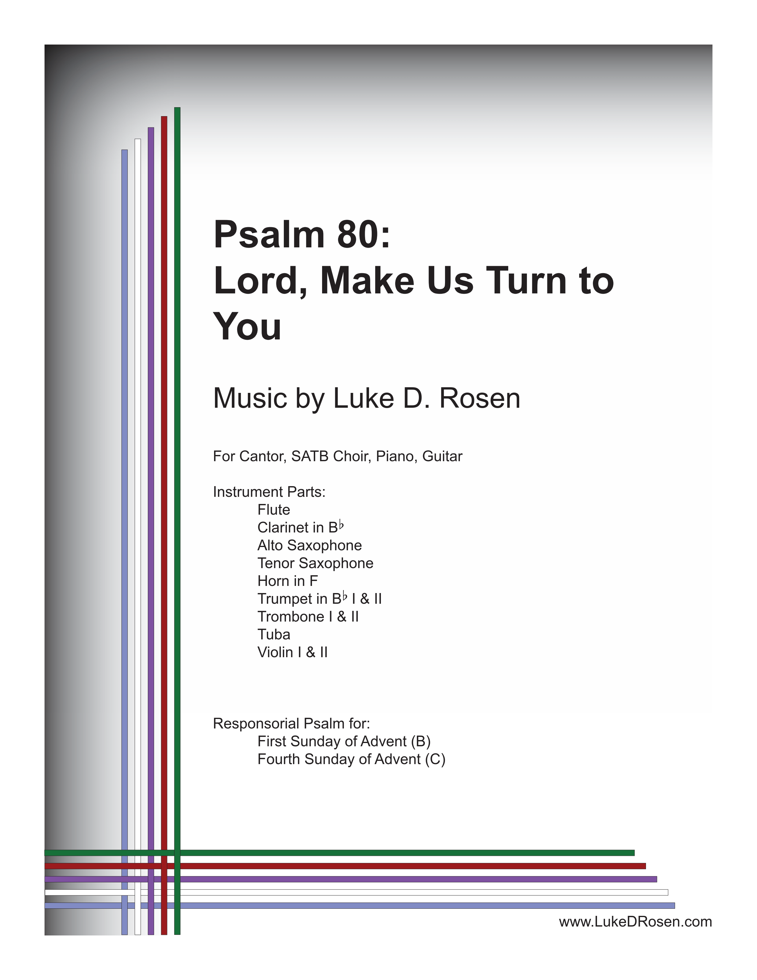 Psalm 80 Lord Make Us Turn to You Rosen Sample Complete PDF 1 png
