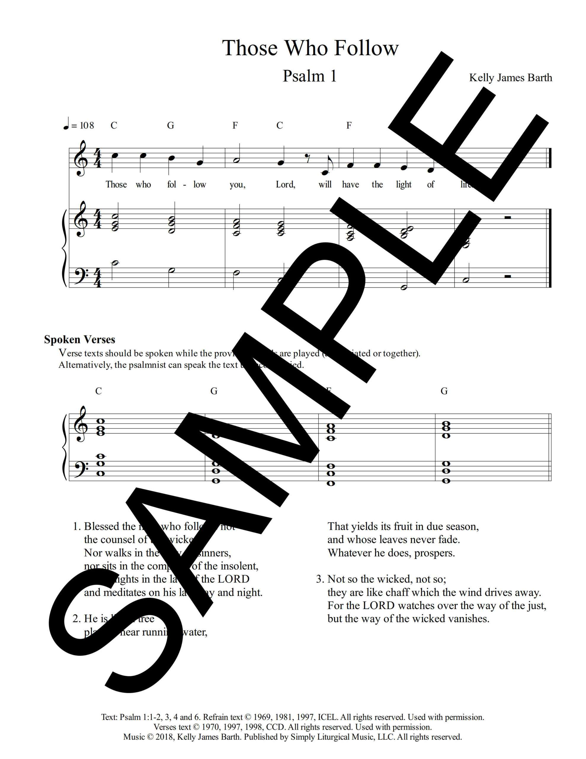 Psalm 1 Those Who Follow Barth Sample Sheet Music 1 png