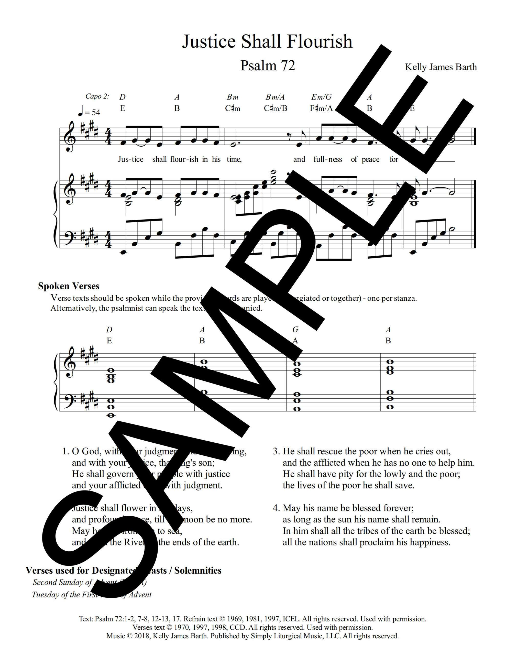 Psalm 72 Justice Shall Flourish Barth Sample Sheet Music 2 png
