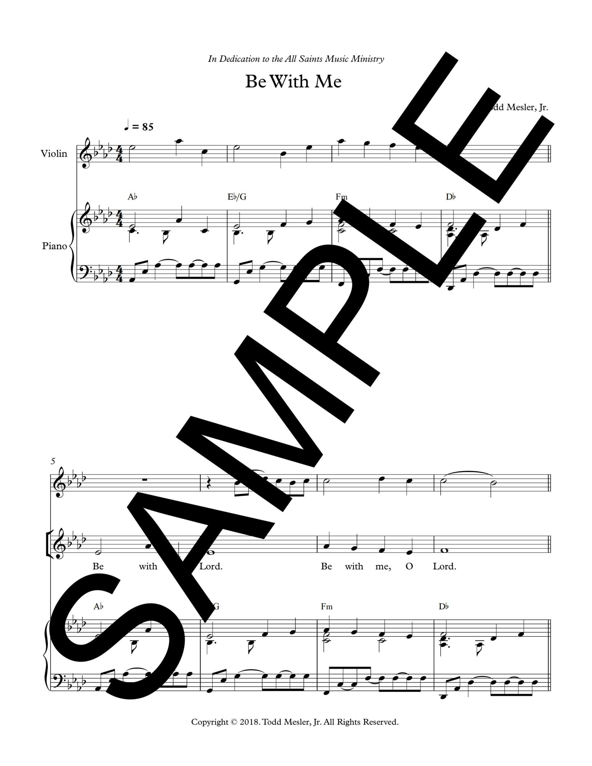 Be With Me Mesler Sample Octavo 1 png